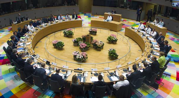 歐盟峰會在比利時布魯塞爾舉行