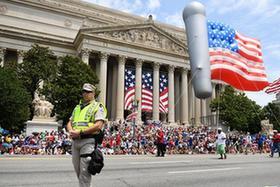 華盛頓舉行獨立日遊行