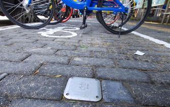 北京共享單車電子圍欄上線