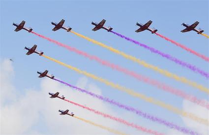 中國空軍舉辦航空開放活動