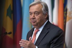聯合國秘書長強調應政治解決朝核問題