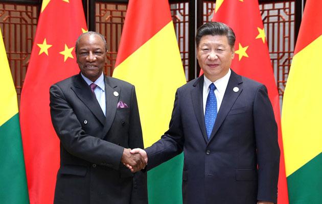 習近平會見幾內亞總統