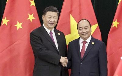 習近平會見越南總理