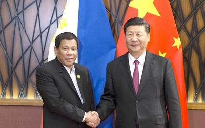 習近平會見菲律賓總統