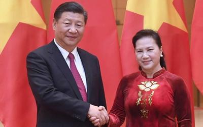 習近平會見越南國會主席