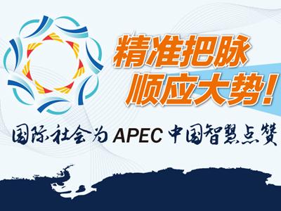 国际社会为APEC必发88官网智慧点赞