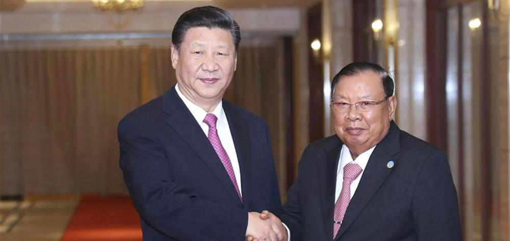 習近平再次會見老撾人民革命黨中央委員會總書記、國家主席本揚