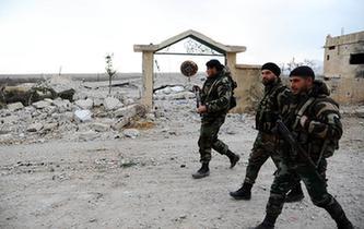 敘反對派武裝開始從大馬士革西南地區撤離