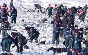 俄調查機構:失事客機墜地後爆炸起火 殘骸散落區達30公頃
