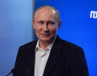 """""""強大的總統,強大的俄羅斯"""""""