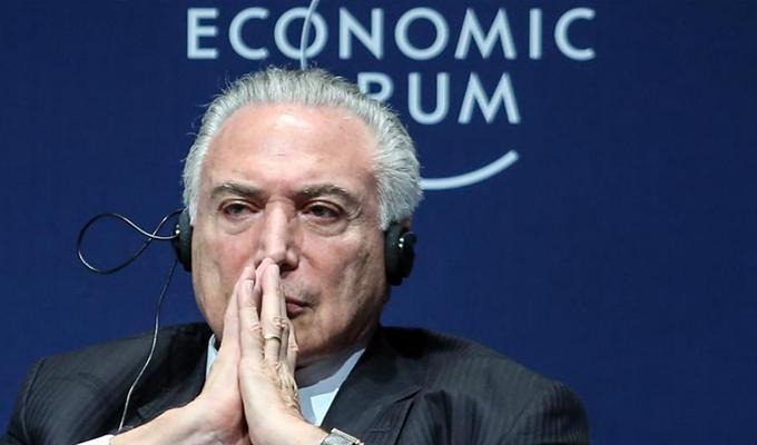 巴西總統表示反對任何形式的貿易保護主義