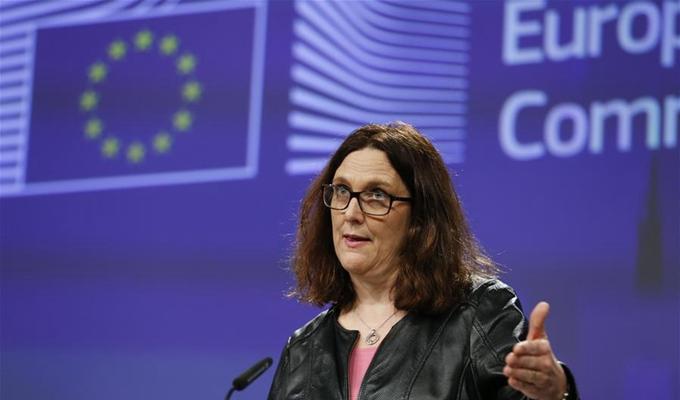 歐盟宣布將針對美國加徵鋼鋁關稅出臺反制措施