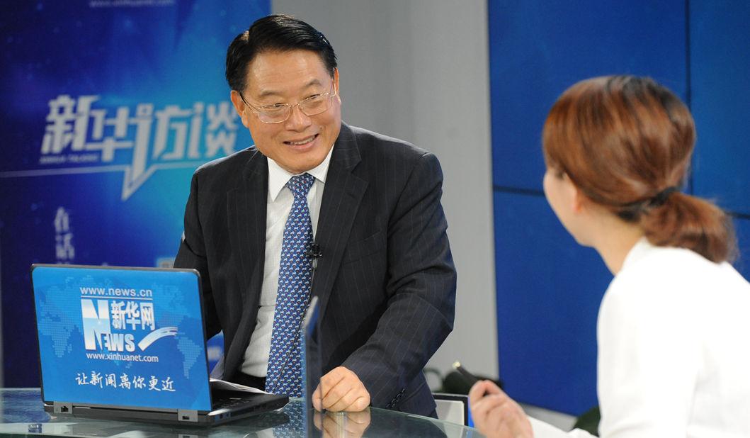 新华网独家专访联合国工业发展组织总干事李勇(组图)