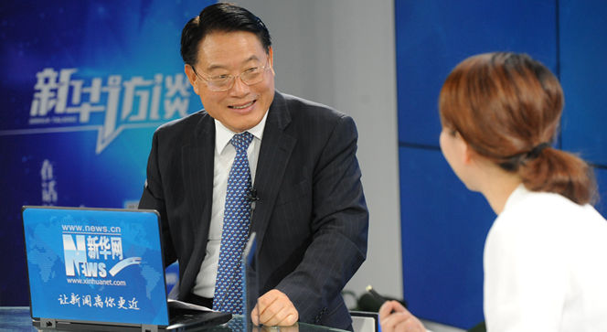 新华网独家专访联合国工业发展组织总干事李勇