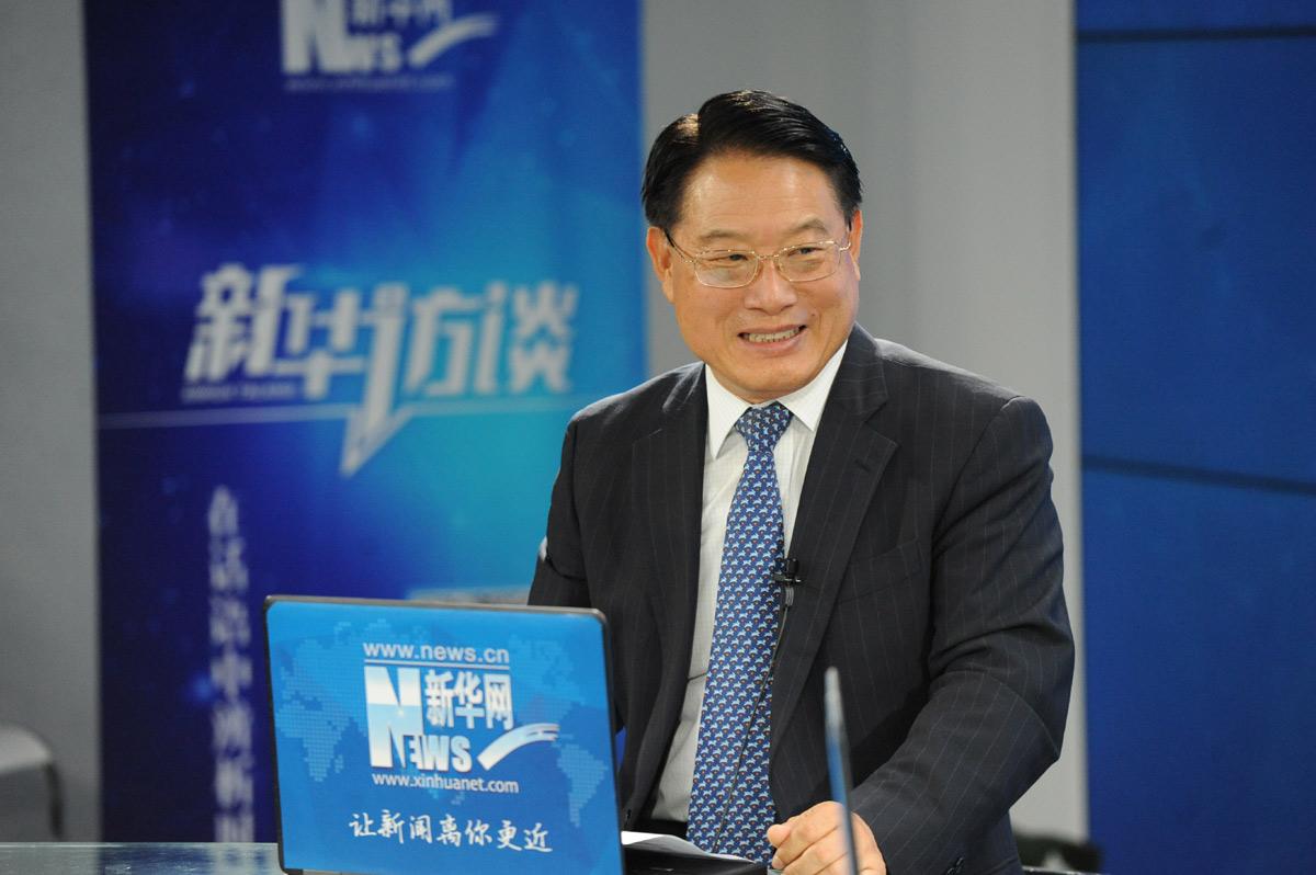 新华网专访联合国工发组织总干事李勇
