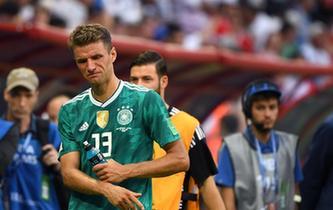 衛冕冠軍德國隊小組賽遭淘汰
