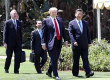 習近平訪問芬蘭並赴美國舉行中美元首會晤(2017.4.4-2017.4.7)