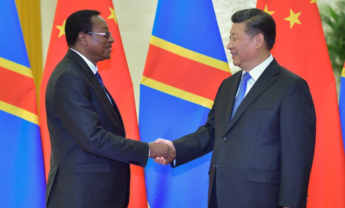 習近平會見剛果民主共和國總理奇巴拉