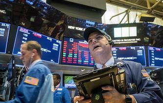 紐約股市三大股指10日大幅下跌