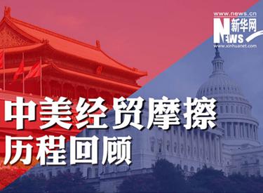 中美经贸摩擦进程回首