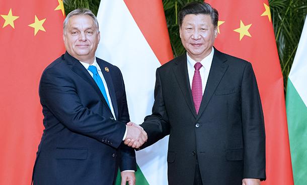 習近平會見匈牙利總理歐爾班