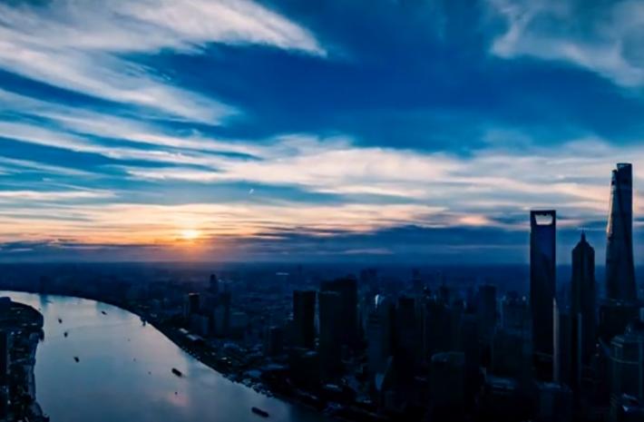 這一刻,瞰上海