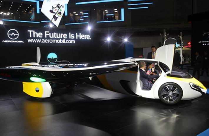 進博會|會飛的汽車還是會跑的飛機?