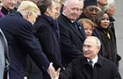 不容易!俄美首腦一戰結束紀念百年活動簡短交談