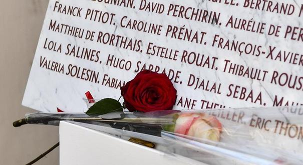 法國舉行巴黎連環恐襲事件三周年紀念活動