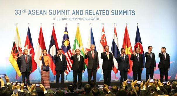 """第33屆東盟峰會在新加坡開幕 以""""韌性與創新""""為主題推進一體化建設"""