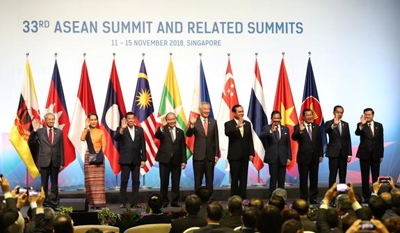 第33屆東盟峰會在新加坡開幕