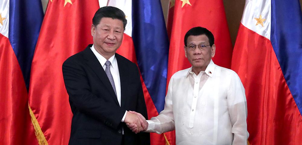習近平同菲律賓總統杜特爾特舉行會談