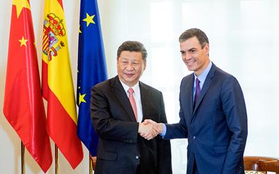 習近平同西班牙首相舉行會談