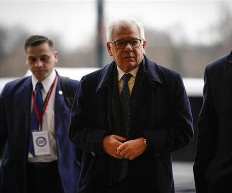 中東問題會議在華沙舉行