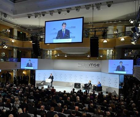 第55屆慕尼黑安全會議于15日-17日在德舉行