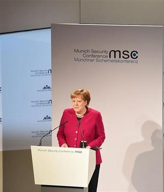 默克爾在慕安會上對單邊主義發出警告