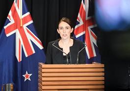 新西蘭總理就槍擊案發表講話