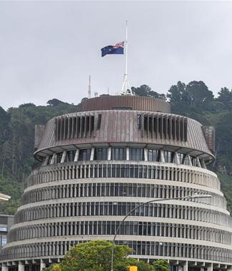 新西蘭議會降半旗 哀悼遇難者