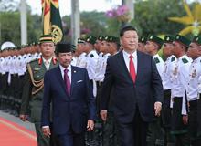 習近平出席APEC第二十六次領導人非正式會議 訪問巴布亞新幾內亞、文萊和菲律賓並在巴新同建交太平洋島國領導人會晤(2018.11.15-11.21)