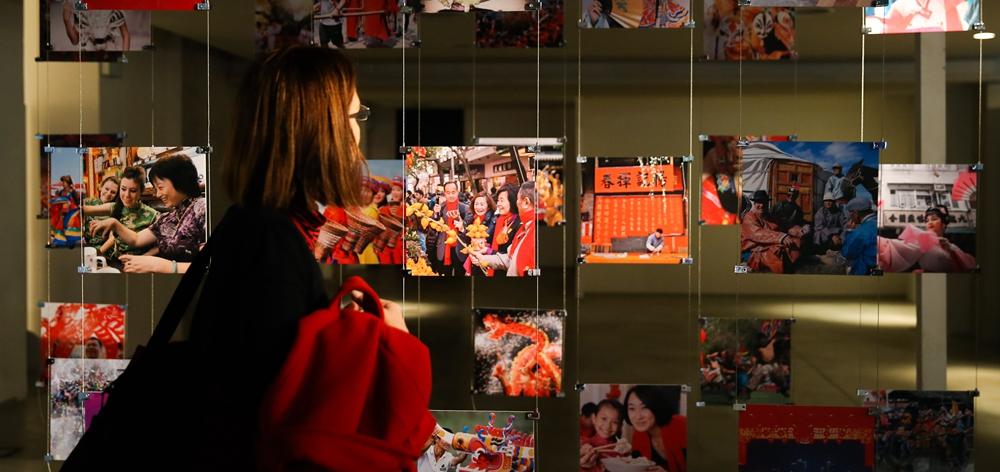 """""""千億像素看中國——城市與人""""互動主題展在意大利羅馬舉行"""