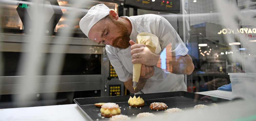法國面包師的中國情緣
