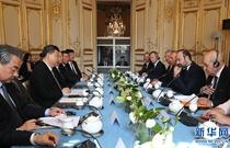 習近平會見法國總理