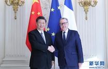 習近平會見法國國民議會議長