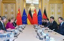 習近平會見德國總理