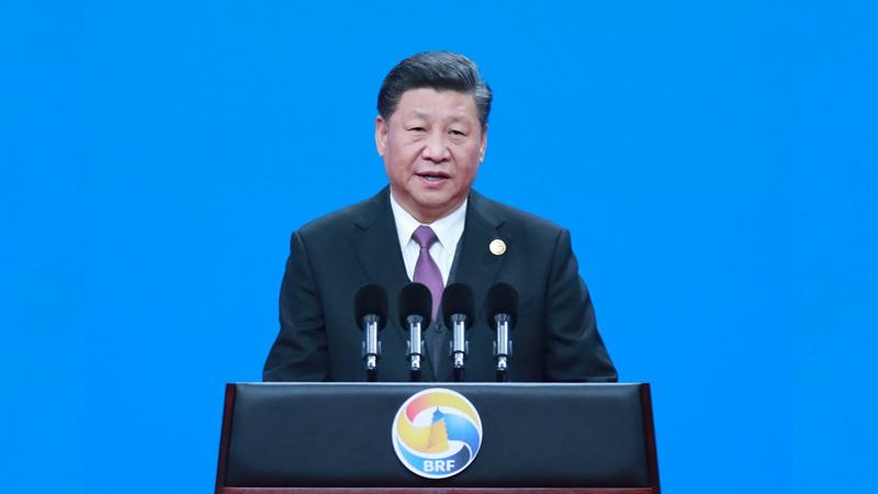 習近平出席高峰論壇開幕式並發表主旨演講