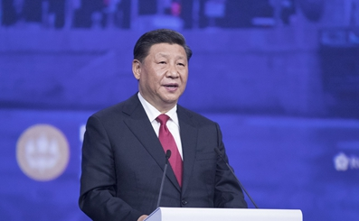 習近平出席聖彼得堡國際經濟論壇全會並致辭