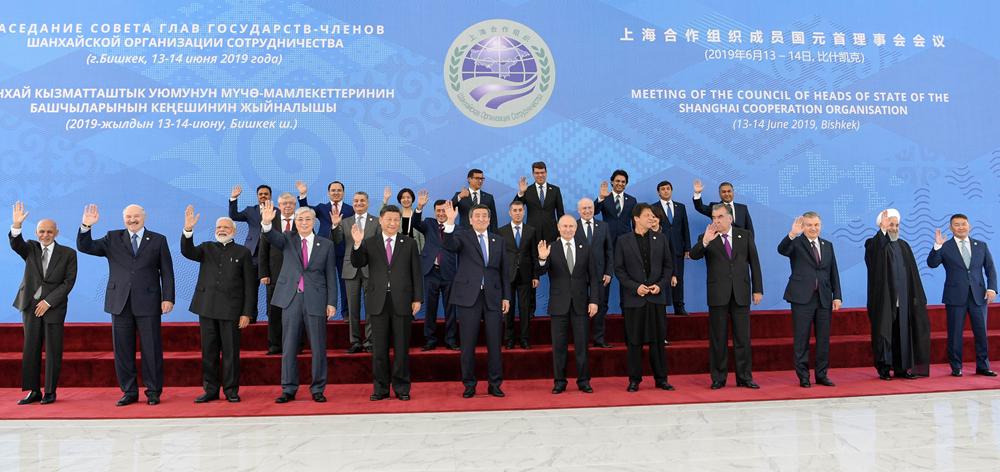 習近平出席上海合作組織成員國元首理事會第十九次會議並發表重要講話
