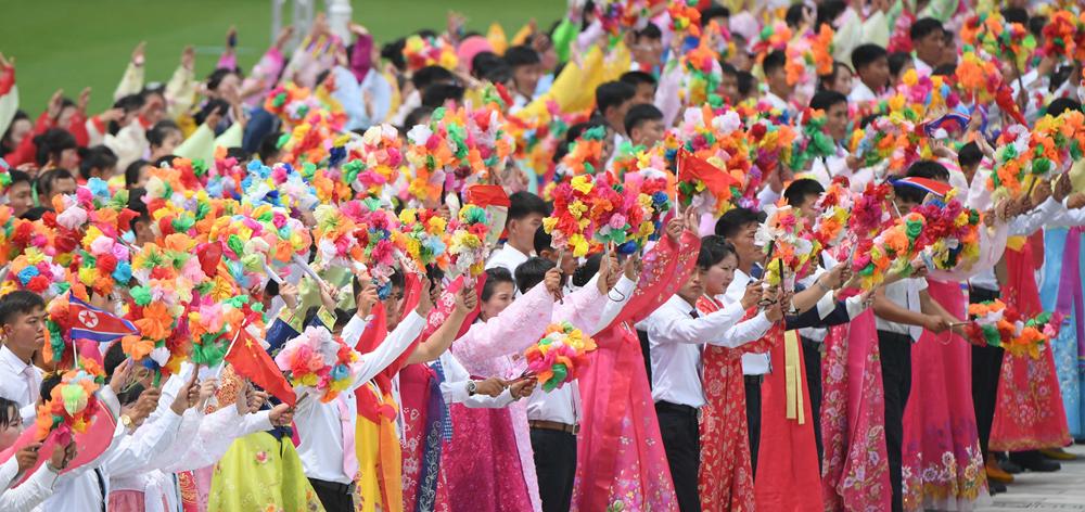 朝鮮民眾熱烈歡迎習近平