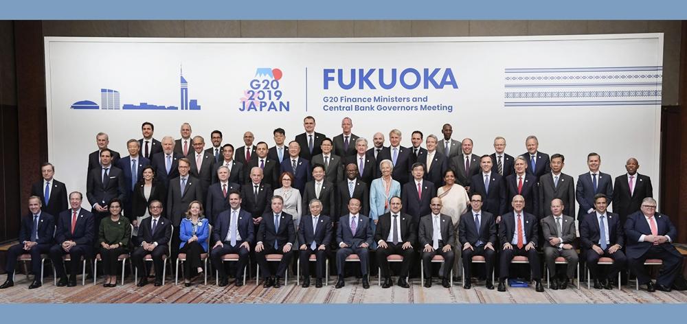 G20財長和央行行長會強調協調應對全球性風險