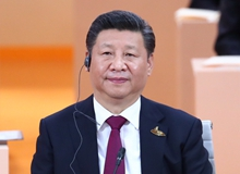 習近平出席二十國集團領導人第十二次峰會並發表重要講話(2017年7月7日)